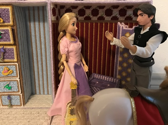 Flynn Doll Replying To Rapunzel
