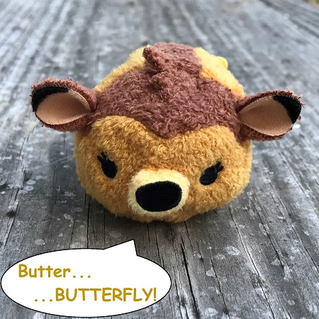 Mini Bambi Tsum Tsum With Speech Bubble
