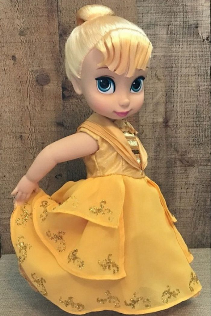 Beauty and The Beast Dress For Disney Animator Dolls.