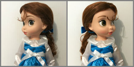 Disney Animators Dolls can turn their heads.