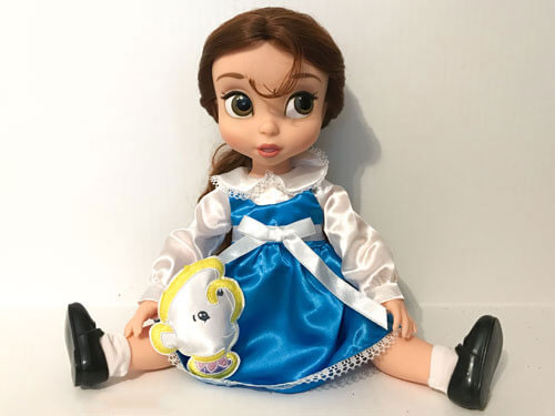 Animator Belle Doll Sitting Down