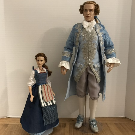 Platinum Beauty And The Beast Prince Doll With Film Collection Belle