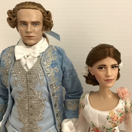 Live Action Beauty And The Beast Belle And Prince Doll Set