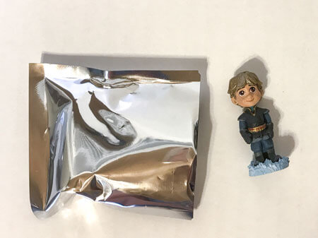 The mystery figure is Kristoff!
