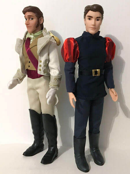 Disney Classic Dolls Prince Phillip And Prince Hans