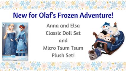 Doll News: Olaf's Frozen Adventure Dolls