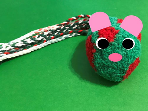 Make your own cat toys!