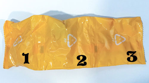 Image Of Yellow Blind Bag