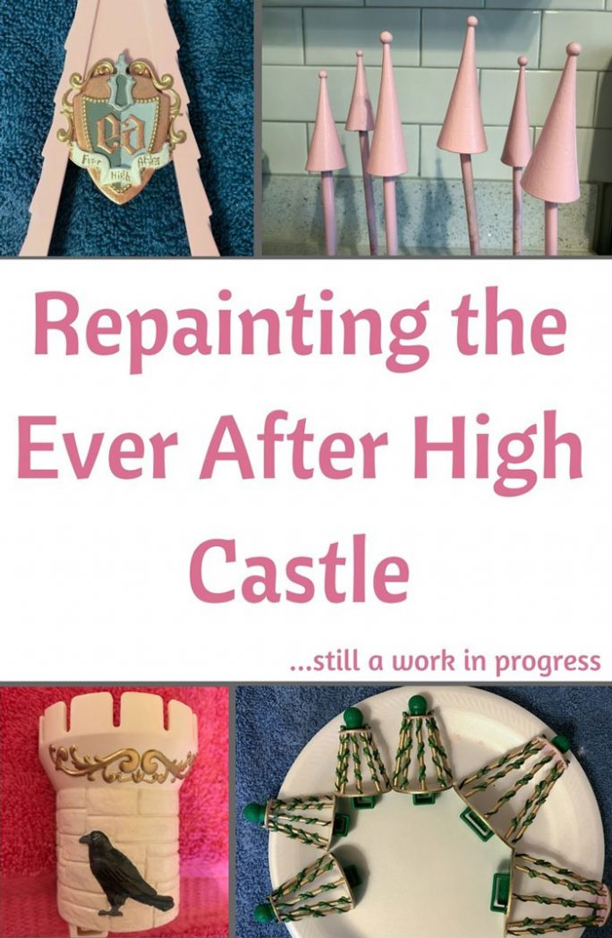 Repainting The Ever After High Castle!