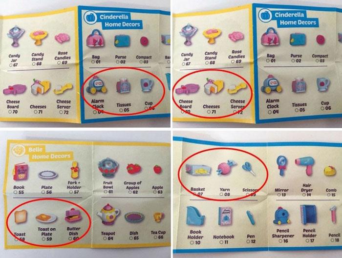 Disney Shopkins Blind Box Catalog