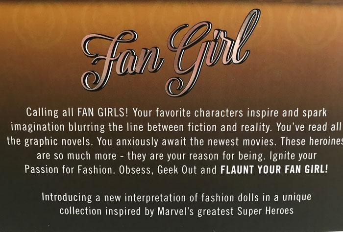 Fan Girl Description