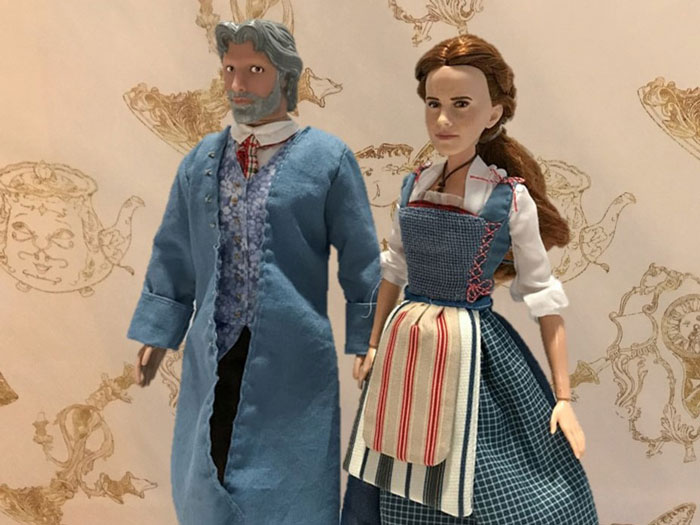 OOAK Maurice Doll From Beauty And The Beast