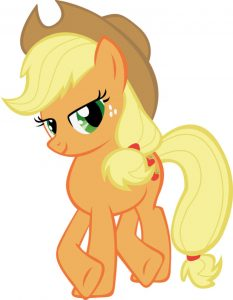 My Little Pony Apple Jack Clip Art