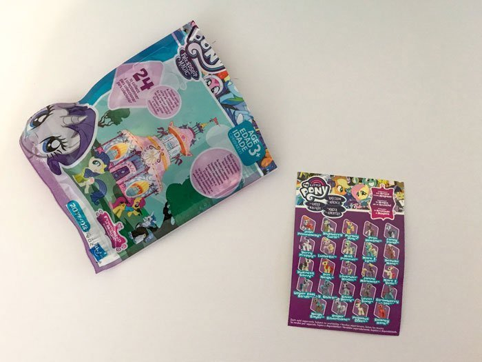 My Little Pony Blind Bag Opening And Review.
