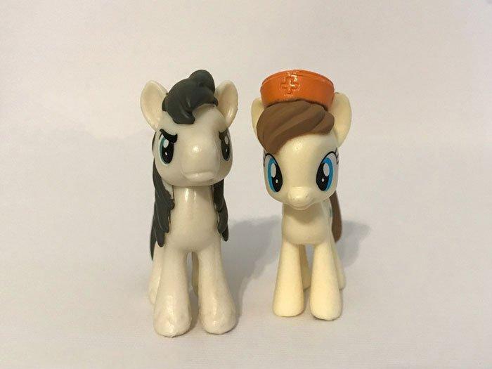 Business Savy And Pegasus Olsen Ponies.