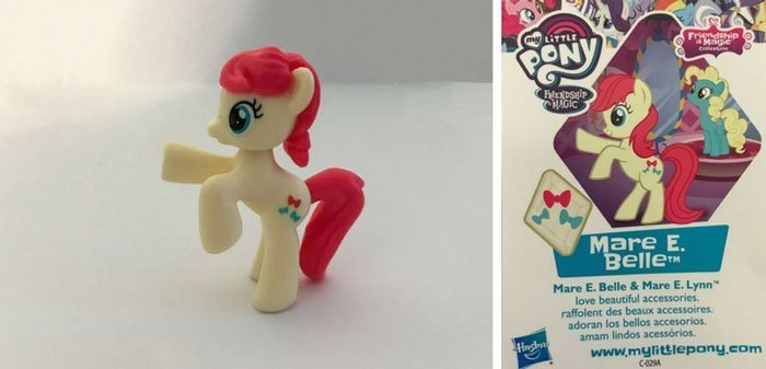 Mare E. Belle Pony And Collector Card.