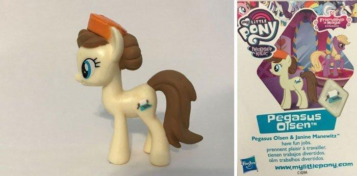 MLP Pegasus Olsen Pony.