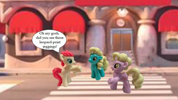 My Little Pony Image With Mall Background