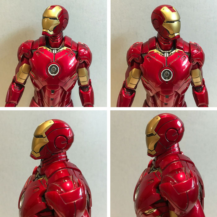 Image showing Iron Man figure articulation.
