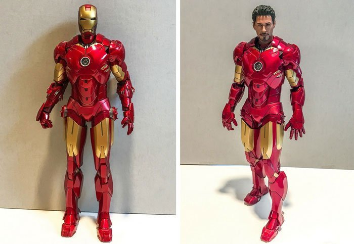 Review of Iron Man Mark IV Action Figure.