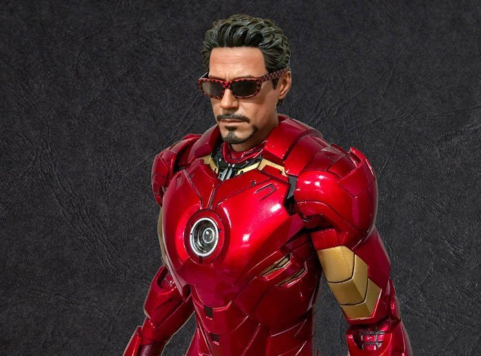 Tony Stark Figure With Sunglasses.