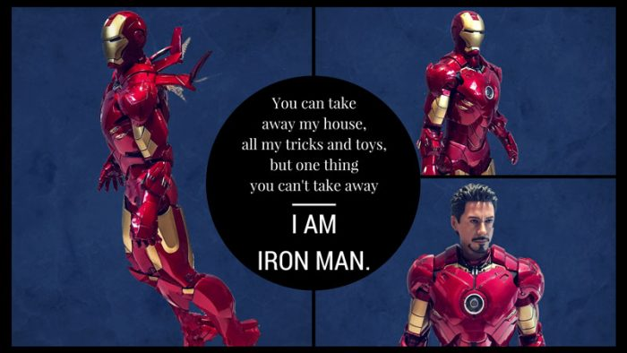Quote From Iron Man 3: I Am Iron Man.