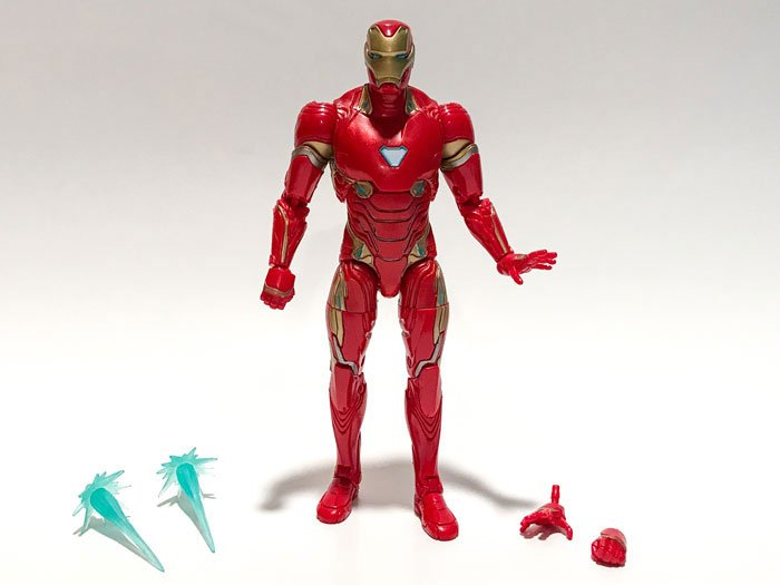Unboxing the Marvel Legends Avengers: Infinity War Iron Man figure.