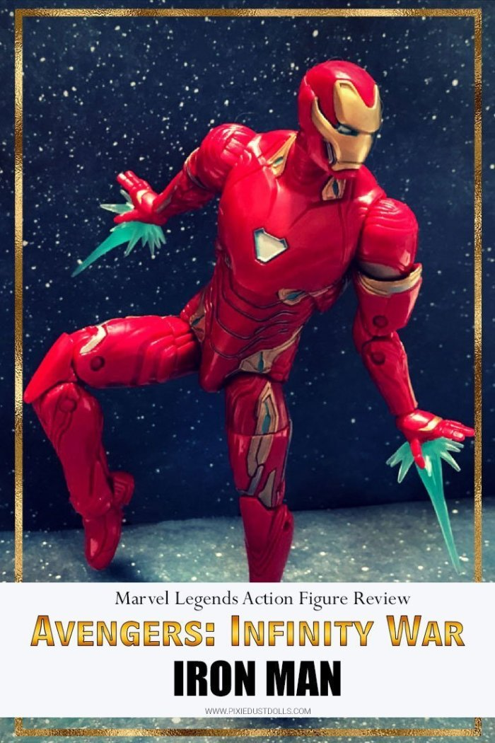 A Review Of The Marvel Legends Avengers: Infinity War Iron Man Action Figure.