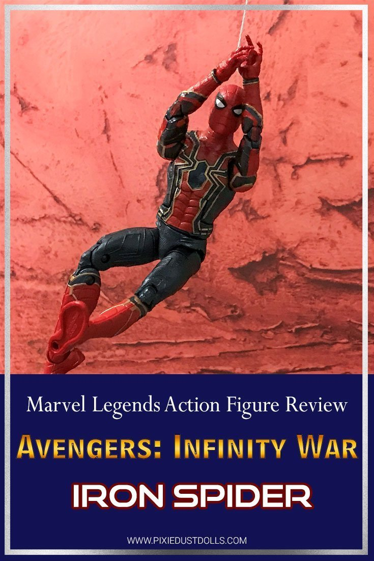 Marvel Legends Review: Iron Spider from Avengers: Infinity War.