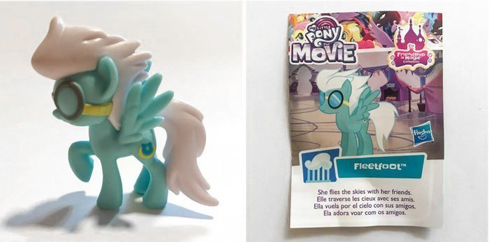 My Little Pony Mini Figure: Fleetfoot.