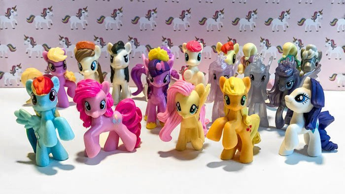 My Little Pony mini figures from Target.