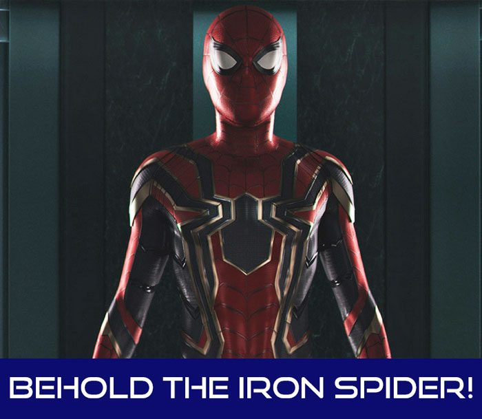 Behold the Iron Spider!