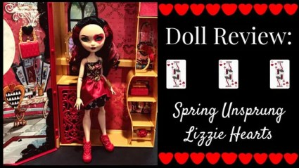 Doll Review: Spring Unsprung Lizzie Hearts.