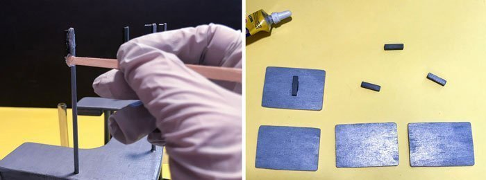 Make the computer screens removable using magnets.
