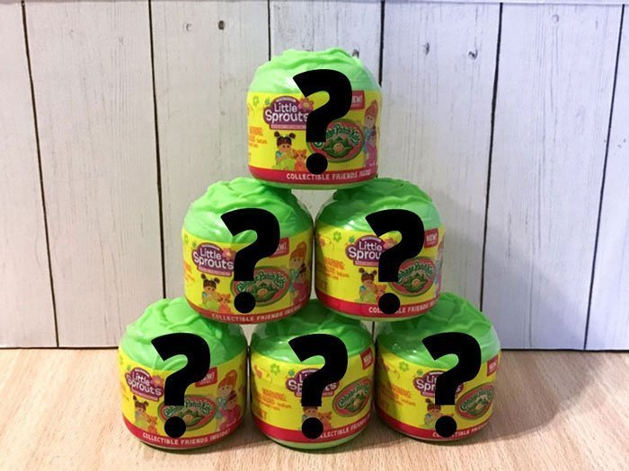 Who's hiding inside these mystery packs?