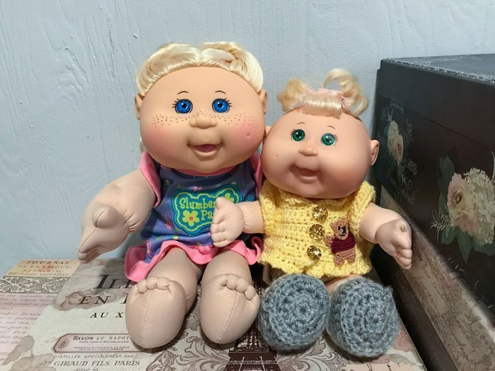 Image of my Cabbage Patch Kids.