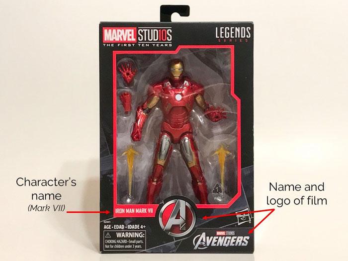 Marvel Studios Iron Man Box Front.
