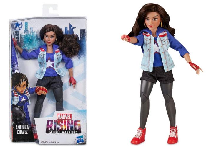 Marvel America Chavez doll.