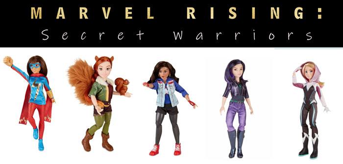 Marvel Rising Dolls.