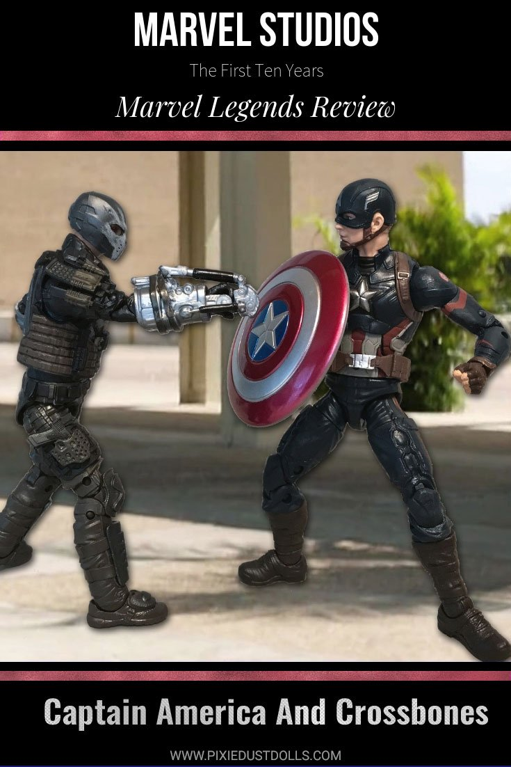 Marvel Studios: The First Ten Years Legends Review--Captain America and Crossbones.