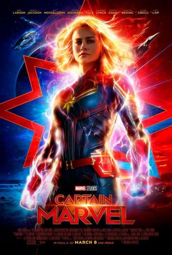 New Captain Marvel Poster.