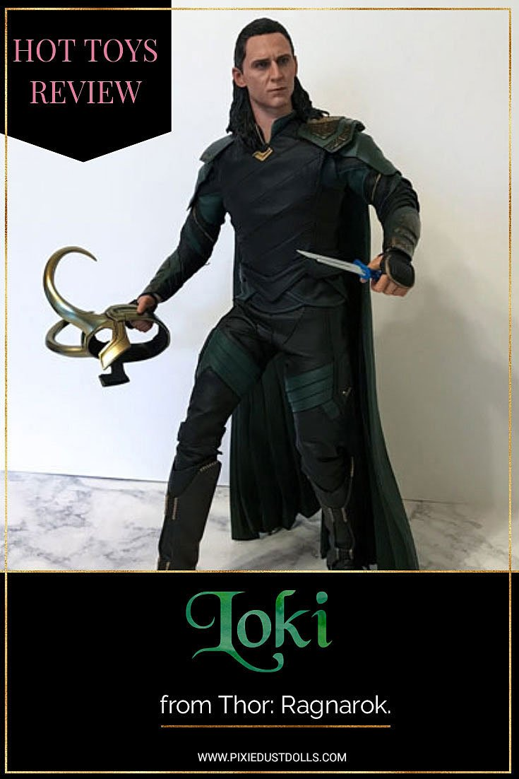 Hot Toys Loki from Thor: Ragnarok Figure Review.