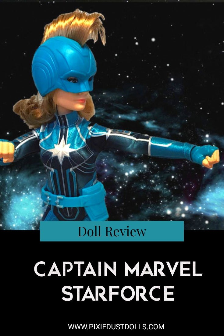 An in-depth review of the Captain Marvel Starforce doll.