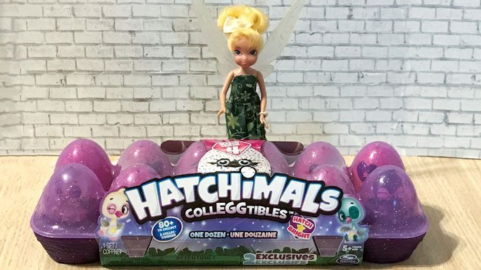 Review of Season 4 Hatchimal CollEGGtibles.