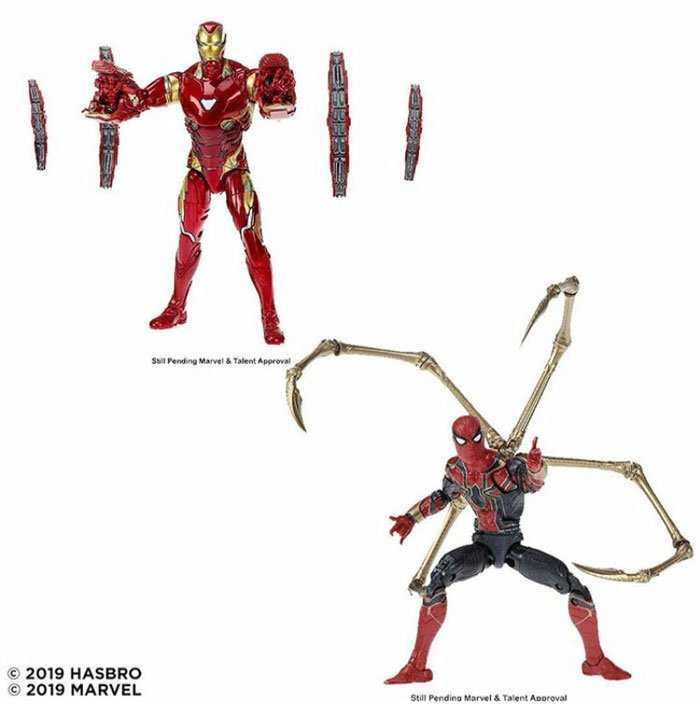 Marvel 80th Anniversary Marvel Legends Iron Man and Iron Spider Two-Pack. Coming Fall 2019.
