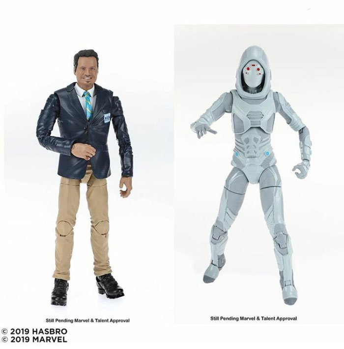 Marvel 80th Anniversary Legends Ghost and Luis Two-Pack. Coming Fall 2019.