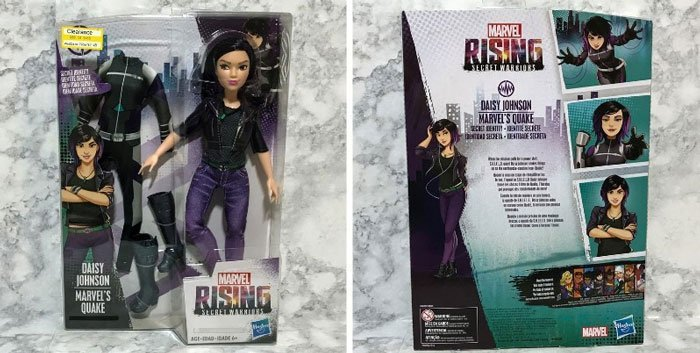 Marvel Rising Doll Review: Quake.