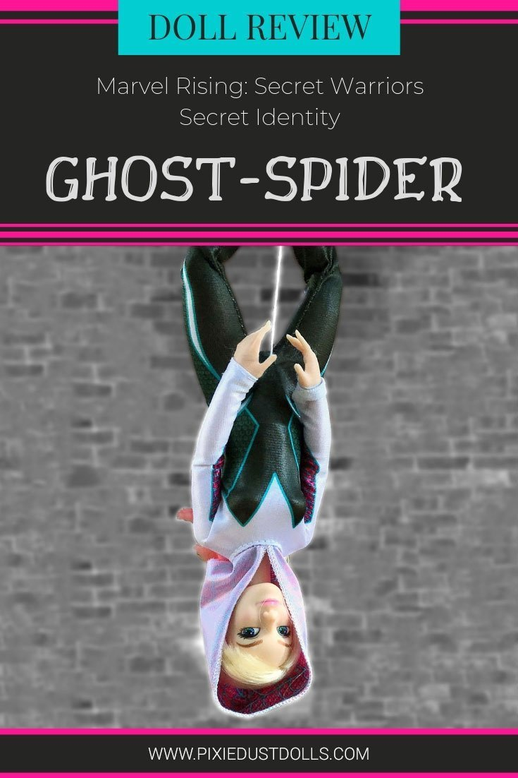 Doll Review: Marvel Rising Secret Identity Ghost-Spider.