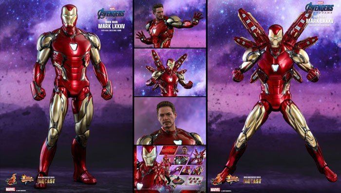 Iron Man Mark LXXXV from Hot Toys.