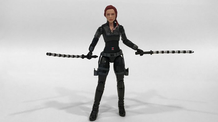 Marvel Legends Review Avengers Endgame Hawkeye And Black